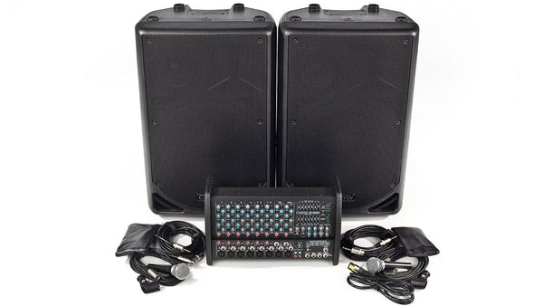 Xp1000l Pm153 10 Channel Pa System Carvin Audio