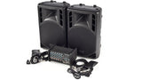 XP800L-PM15 6 Channel PA System Front Angled