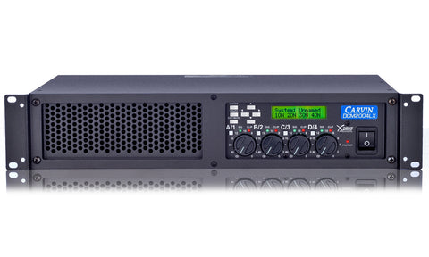 DCM2004LX Ultra Light 4-Channel 2000W X-Drive Power Amp