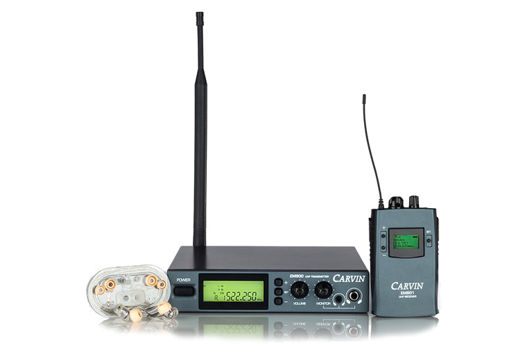 carvin wireless in ear personal monitor system em900. Black Bedroom Furniture Sets. Home Design Ideas