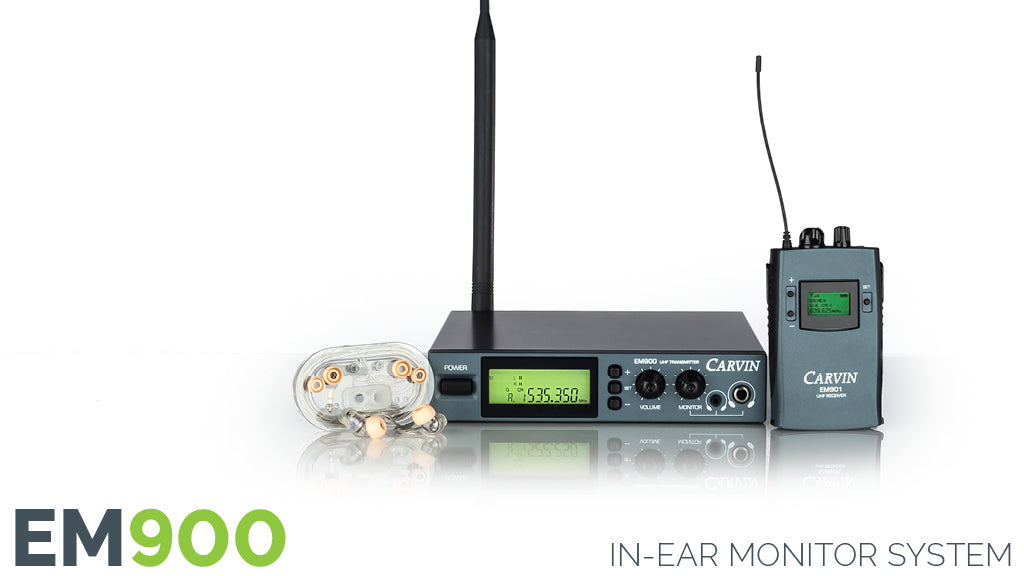 EM900 Wireless In-Ear Monitor System 518-542MHz