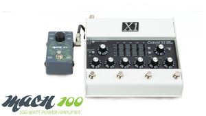 X1 Tube Preamp and 100W Amplifier Combo
