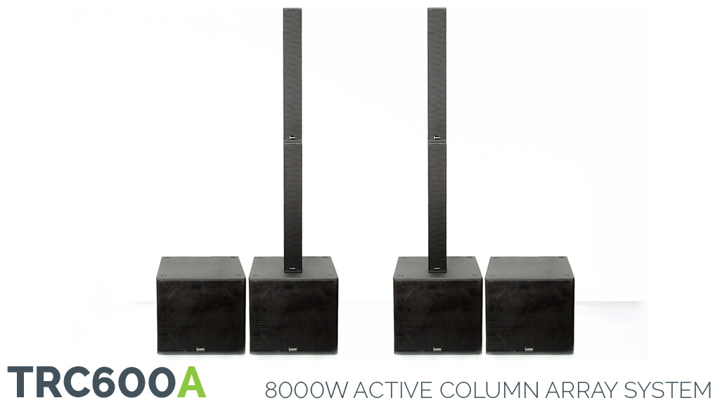 Carvin TRC600A 6000W Active Column Array System
