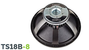 "Carvin TS18B-8 800W 18"" speaker 8 ohm Woofer"
