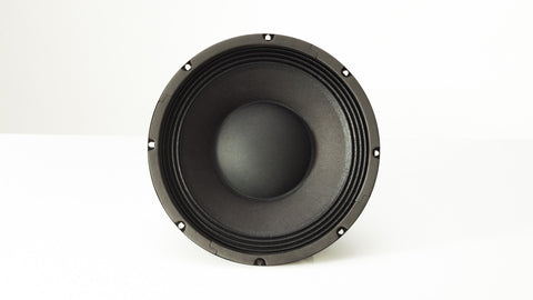 "Carvin PS10-8 10"" speaker part is a 10-inch 8 ohm woofer front view"