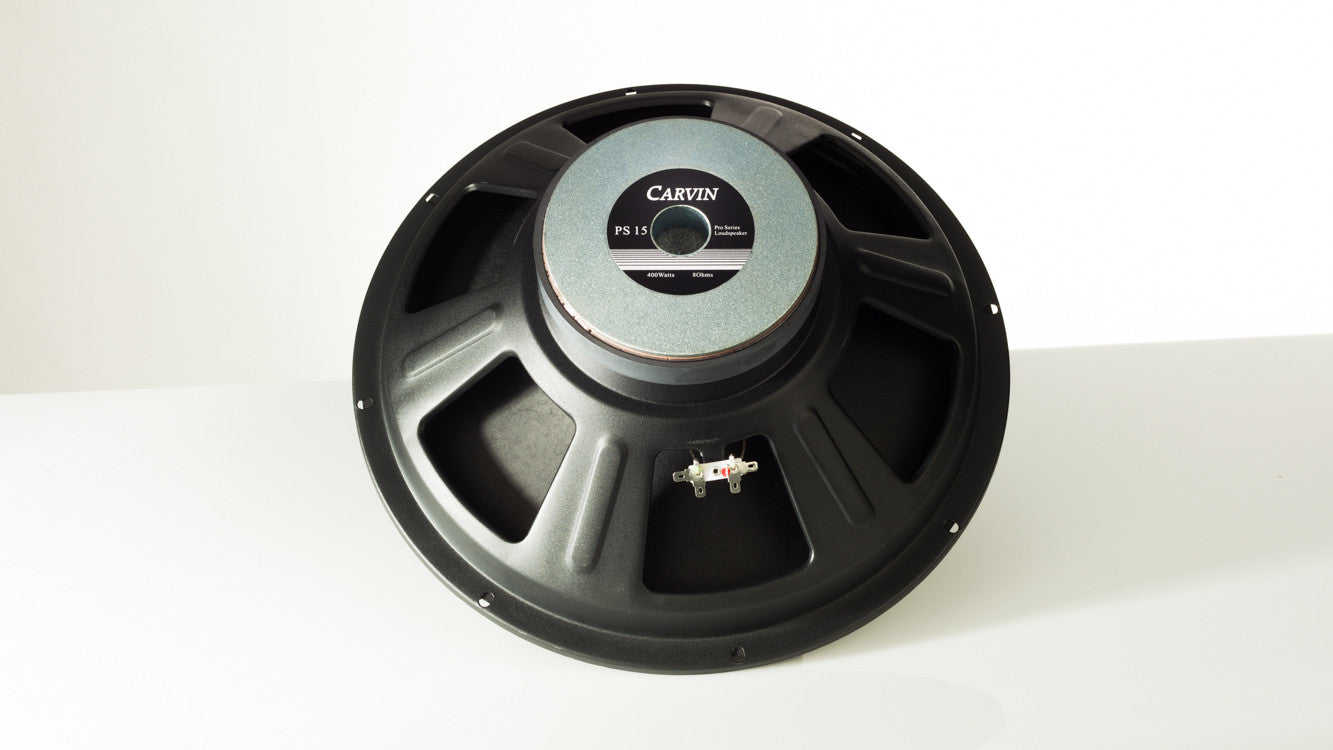 carvin ps15-4 4 ohm 400 watt loudspeaker for scx15a and qx15a