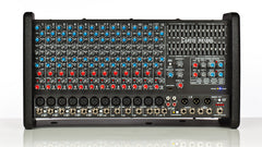RX1200L, 12channel - 4 power amp, powered mixer (rack mountable).