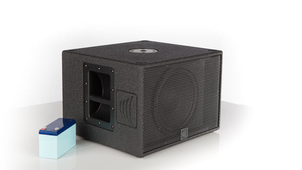 S610b Battery Powered 400w Portable Subwoofer Carvin Audio