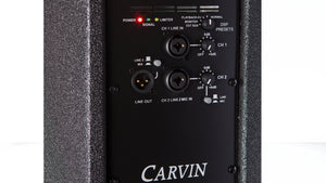 carvin scx12a 1000 watt active main and monitor loudspeaker with dsp
