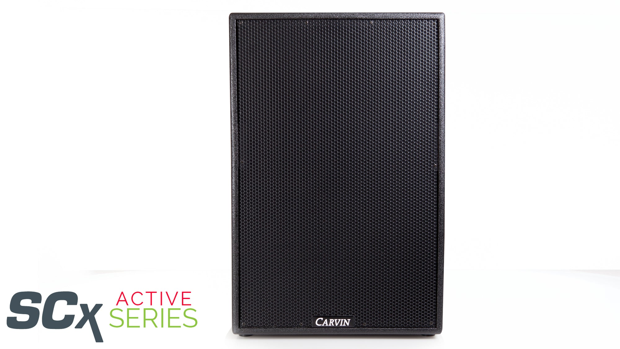 carvin scx15a 1000w active main monitor loudspeaker