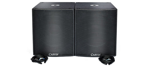 SCXSUB-A 18 Inch 2800W Powered Subwoofer Package