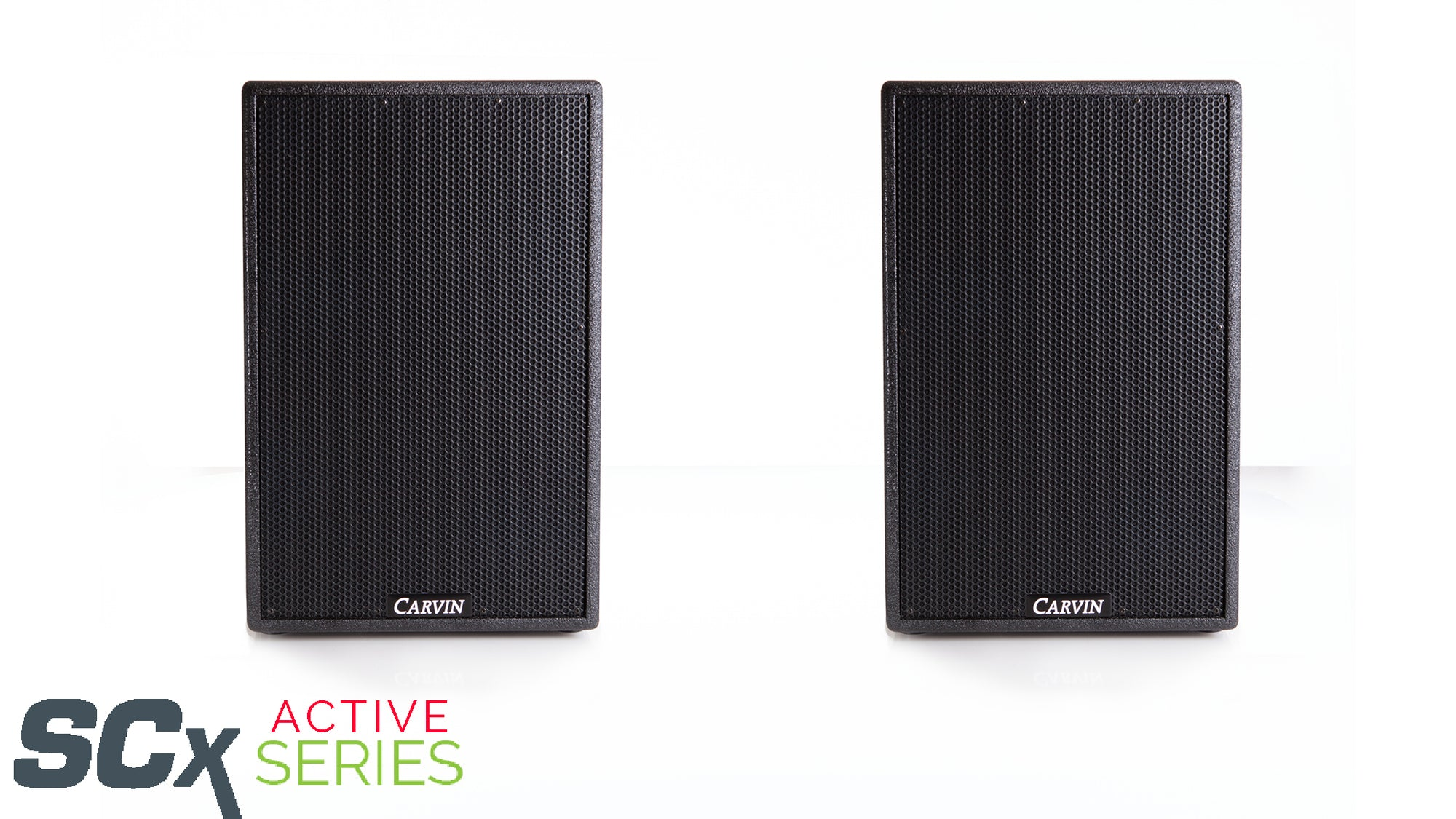 carvin scx12a 2000 watt active loudspeaker system with dsp