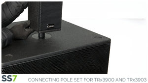 Carvin SS7 is used to connect the TRx3900 and TRx3903 column array speaker