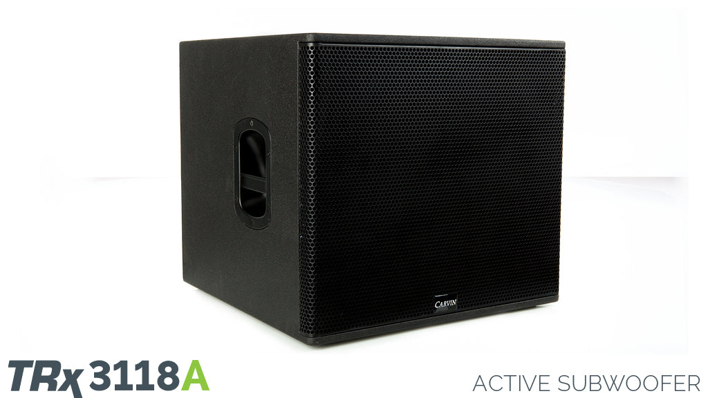 Carvin TRx3118A 2000W Active 18-Inch Subwoofer