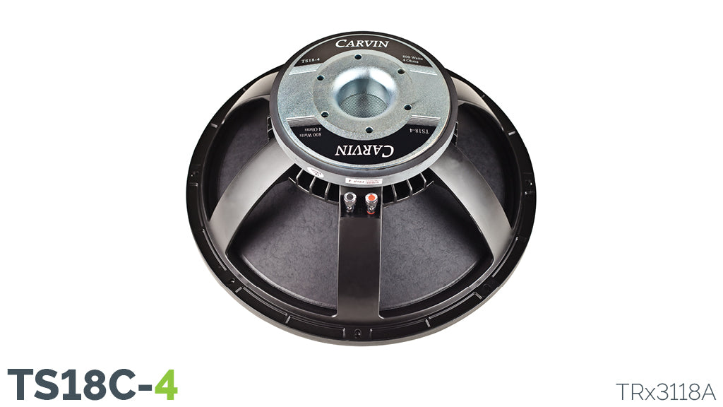 Carvin TS18C-4 900W 18-Inch Woofer
