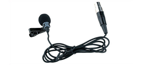 Carvin UX-LP1 Lavalier Microphone with cable ant TA4F 4-pin connector
