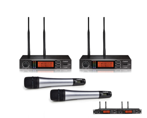 UX1200MC2 2 PACK  HANDHELD MICROPHONE SYSTEM