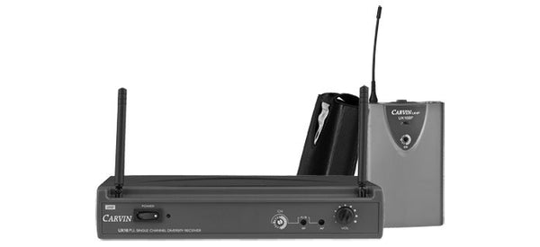 ux16 bp uhf wireless receiver and body pack transmitter. Black Bedroom Furniture Sets. Home Design Ideas