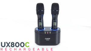 Carvin UX800C charging base for rechargeable wireless microphones