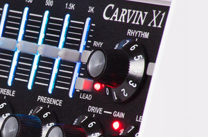 Carvin X1 All Tube Guitar Pre Amp Pedal