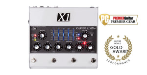Carvin X1 All Tube Guitar Pre Amp Pedal with guitar world gold award and premier guitar award