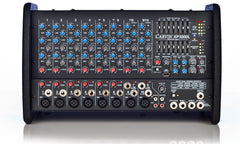 XP1000, 10 channel- 3 power amp powered mixer.