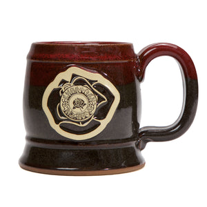American Beauty Sunset Barrel Pottery Mug