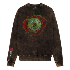 American Beauty Rose Crew Sweatshirt