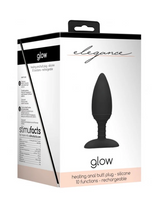 Shots Glow Heating Anal Butt Plug Vibe