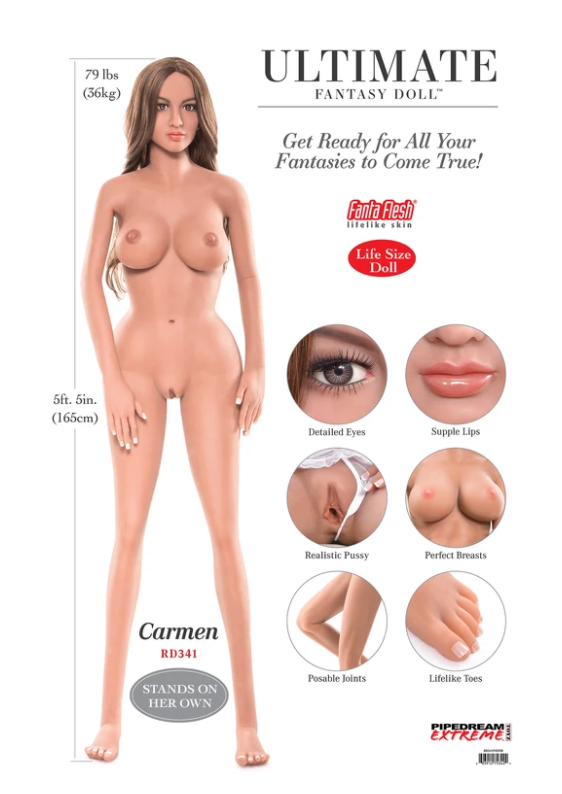 Pipedream Products Ultimate Fantasy Doll Carmen