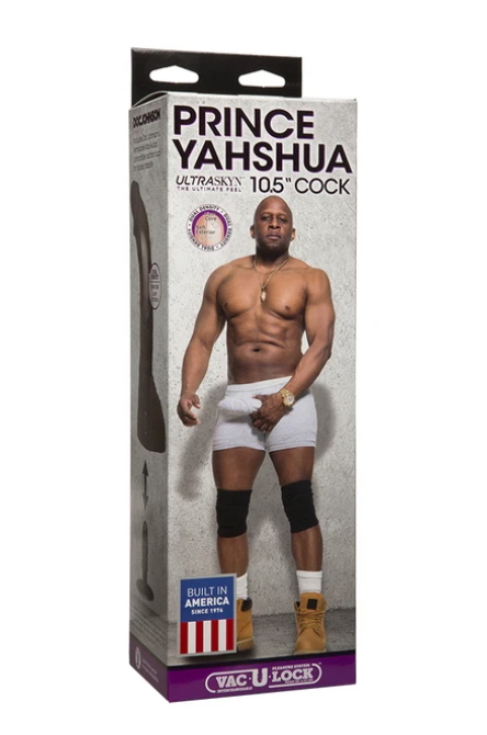 "Doc Johnson Prince Yahshua ULTRASKYN™ 10.5"" Cock"