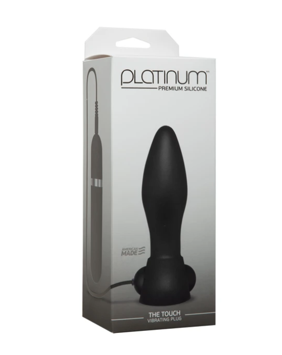 Doc Johnson Platinum Premium Silicone The Touch Vibrating Plug