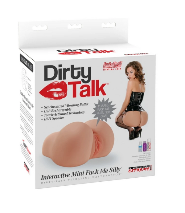 Pipedream's Dirty Talk Interactive MINI Fuck Me Silly