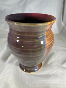 "Vase in ""Very Berry Shimmer"" 