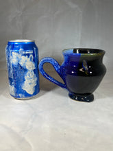 "Load image into Gallery viewer, Classic Mug in ""Midnight Blues"" 