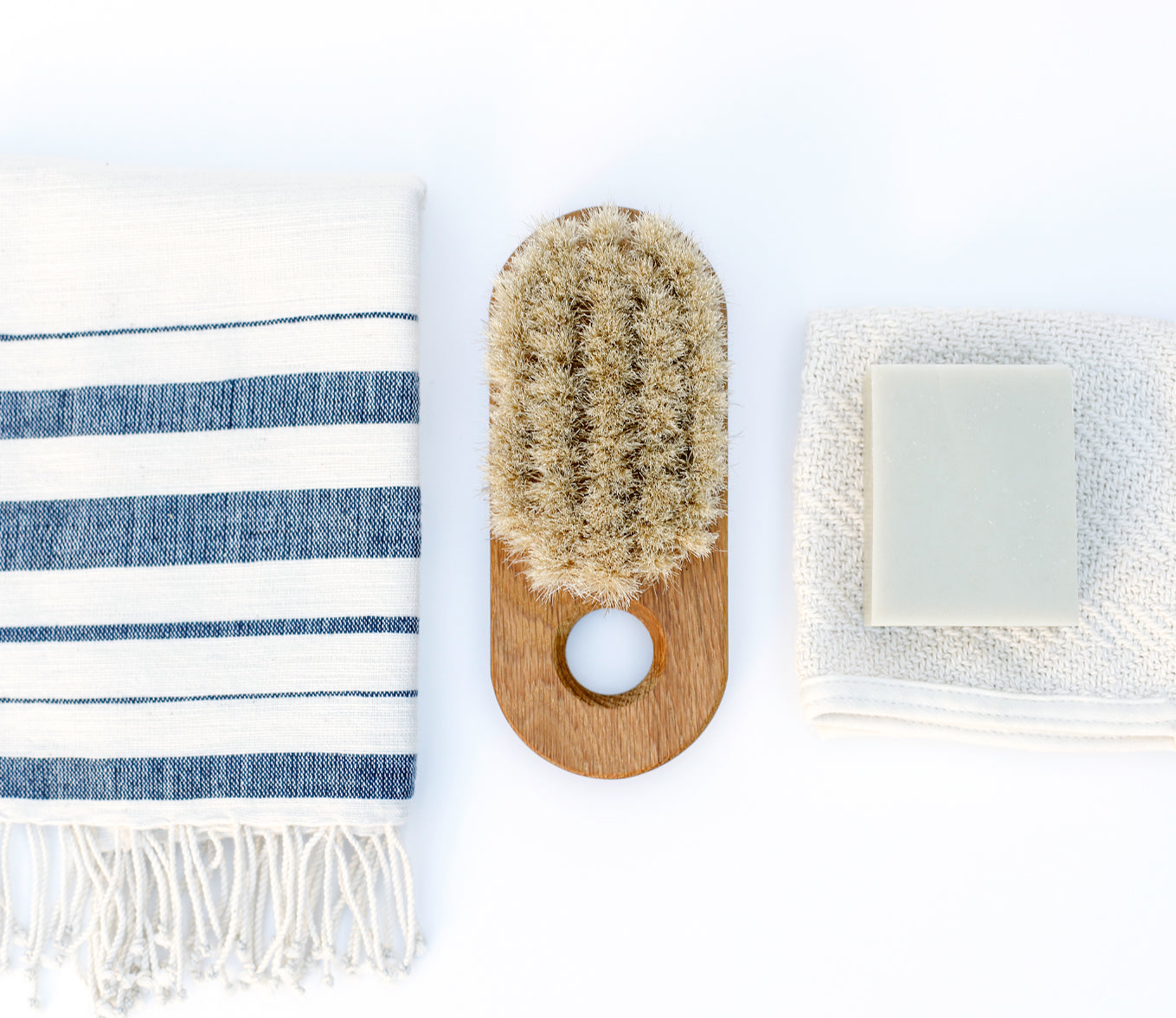 Handcrafted Bath Brush Lovisa