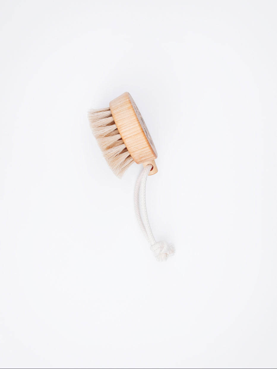 Handcrafted Bath Brush Puck