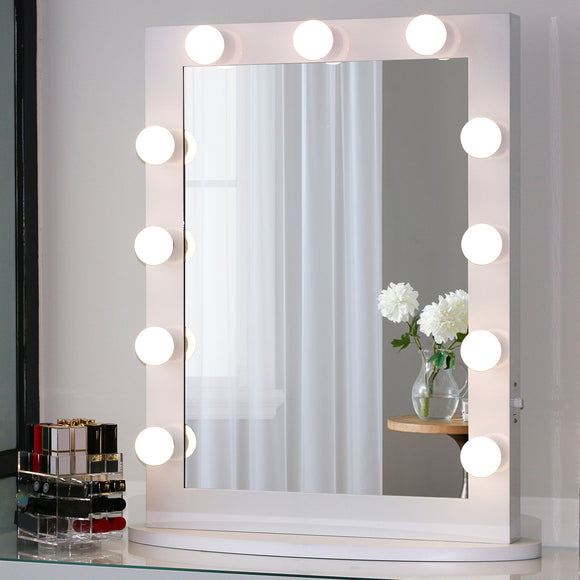 Toyswill Large Vanity Mirror with Lights 23.6