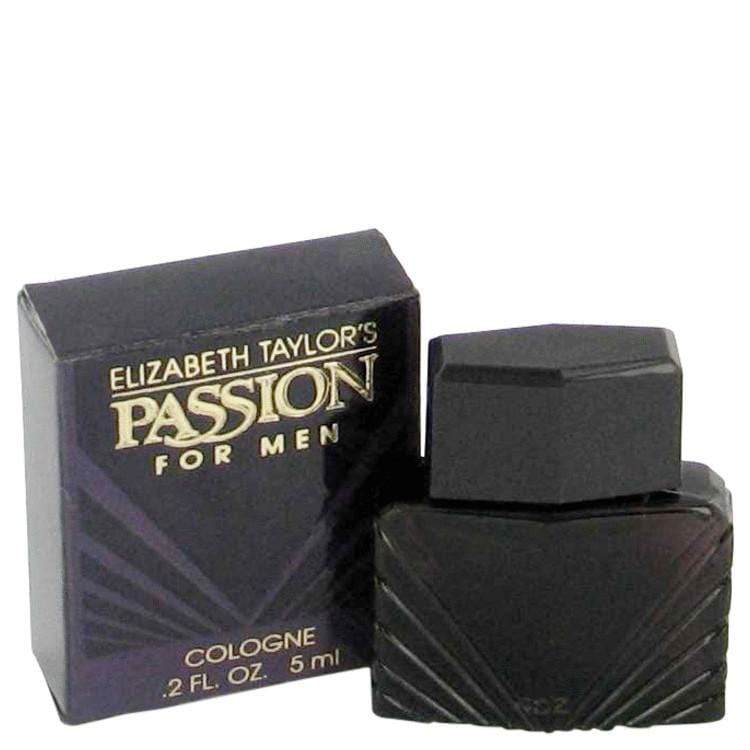 PASSION by Elizabeth Taylor Mini Cologne (unboxed) .2 oz for Men - Oliavery