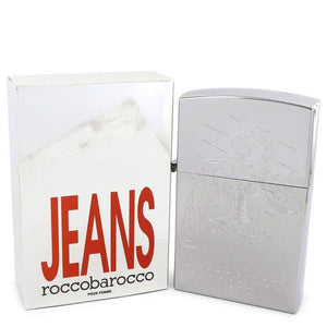 ROCCOBAROCCO Silver Jeans by Roccobarocco Eau De Toilette Spray (new packaging) 2.5 oz for Women - Oliavery