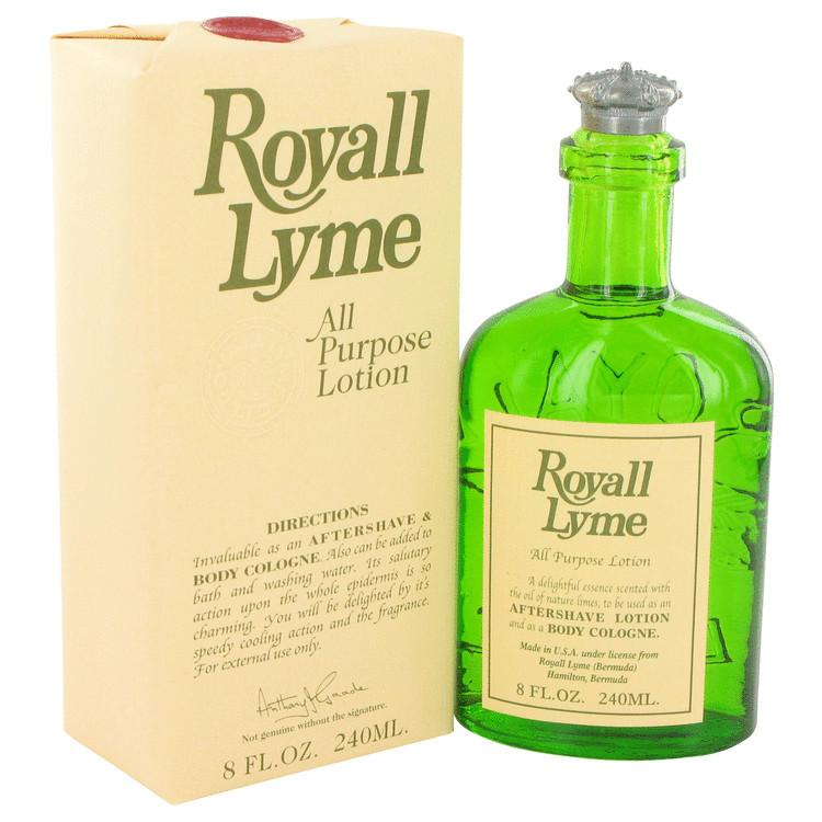 ROYALL LYME by Royall Fragrances All Purpose Lotion - Cologne 8 oz for Men - Oliavery