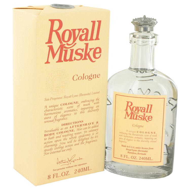 ROYALL MUSKE by Royall Fragrances All Purpose Lotion - Cologne 8 oz for Men - Oliavery