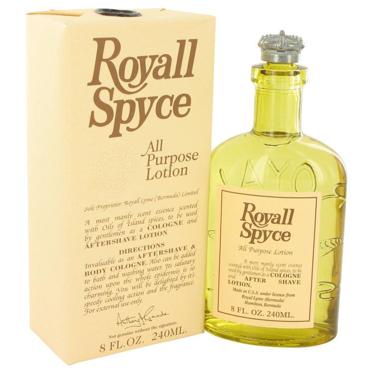 ROYALL SPYCE by Royall Fragrances All Purpose Lotion / Cologne for Men - Oliavery