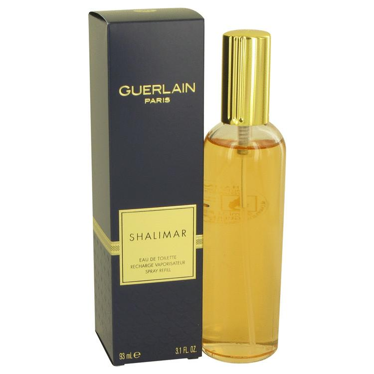 SHALIMAR by Guerlain Eau De Toilette Spray Refill 3.1 oz for Women - Oliavery