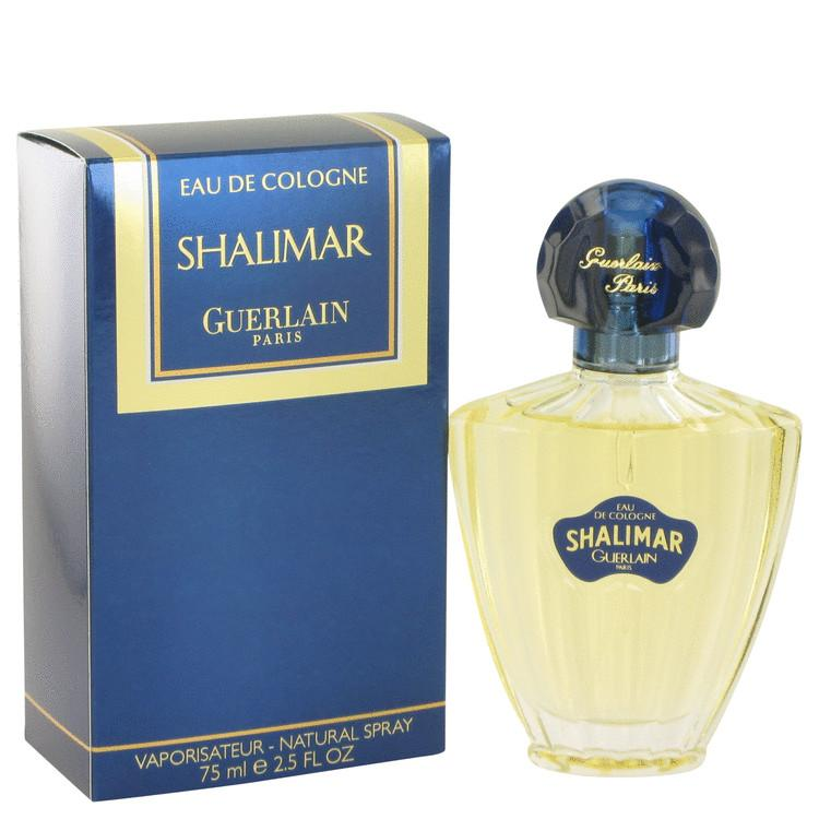 SHALIMAR by Guerlain Eau De Cologne Spray 2.5 oz for Women - Oliavery
