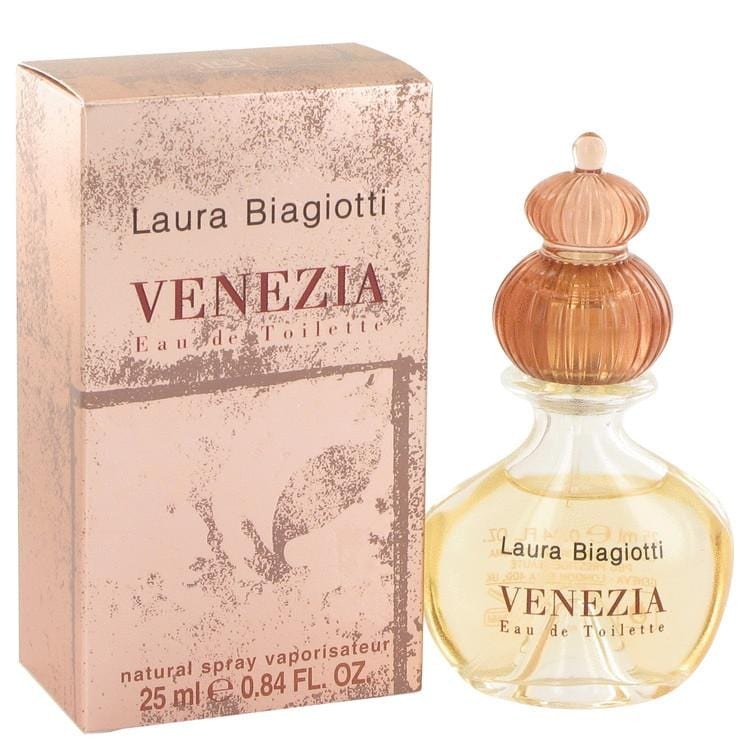 Venezia by Laura Biagiotti Eau De Toilette Spray .84 oz for Women