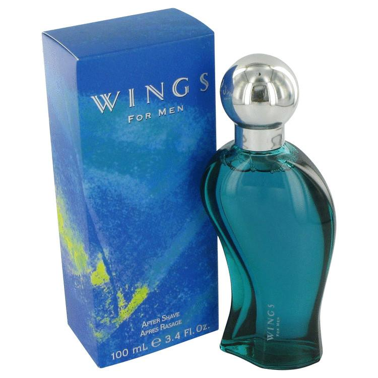 WINGS by Giorgio Beverly Hills After Shave 3.4 oz for Men - Oliavery