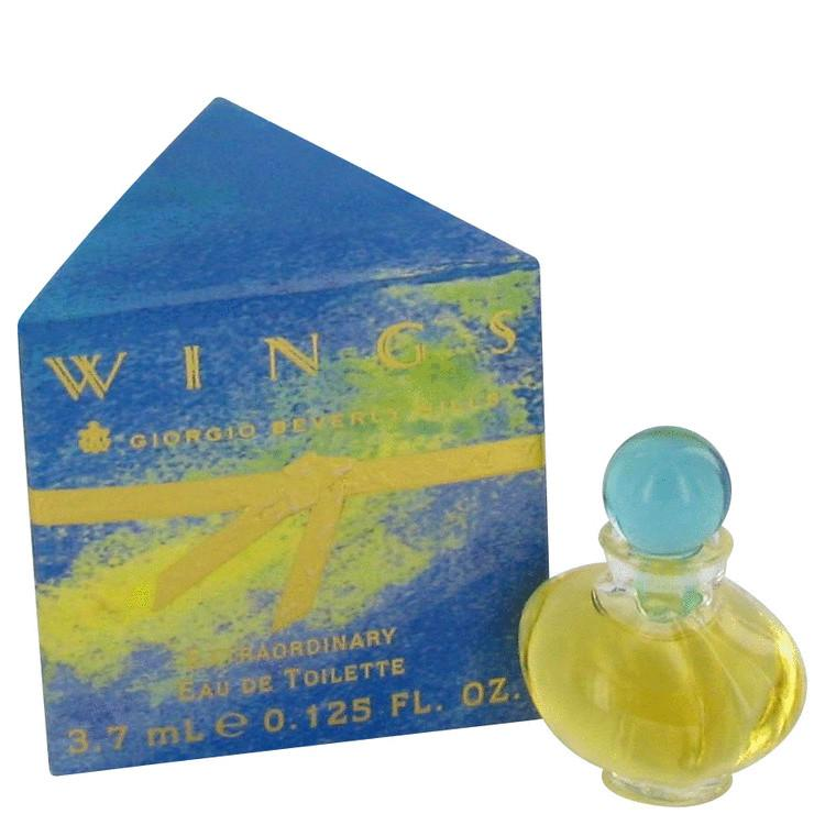 WINGS by Giorgio Beverly Hills Mini EDT .13 oz for Women - Oliavery
