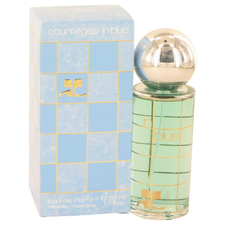 COURREGES IN BLUE by Courreges Eau De Parfum Spray 1.7 oz for Women - Oliavery