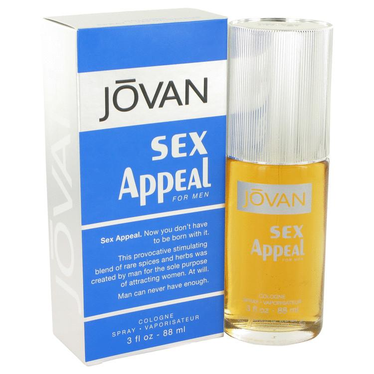 Sex Appeal by Jovan Cologne Spray 3 oz for Men - Oliavery